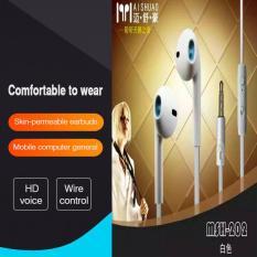 MSH 202 Handsfree general 2 fungsi for Iphone dan Android 3.5 mm jack stereo mega bass earphone mp3  earphone mp4 earphone for iphone earphone for oppo