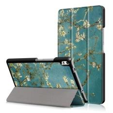 Multi Tampilan Sudut Penutup Folio Case untuk Lenovo Tab 4 8 PLUS Tb-8704f/N 8 Inci dengan Stand & Auto Wake/tidur-Internasional