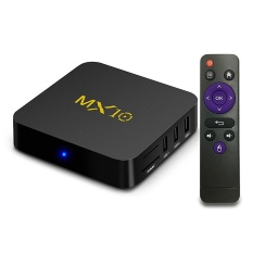 MX10 Android 7.1.1 RK3328 KODI 17.3 4 K HDR TV BOX 4 GB DDR4/32 GB EMMC 802.1.1 B /g/n LAN WIFI VP9 HDMI USB3.0 UK Plug-Intl