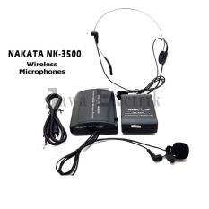 Nakata Mic Wireless NAKATA NK-3500 CLIP ON + Headset