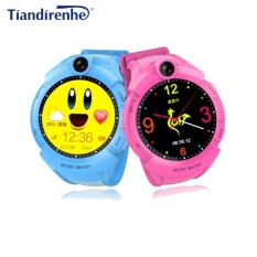 Newest VM50 Kid Smart Watch Children Waterproof LED Flashlight Call Safe Monitor Camera Study Watches pk Q90 Q50 Q750 - intl