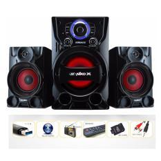 Niko DYNAMITE Slank Speaker FM + Bluetooth 55 Watt - Merah