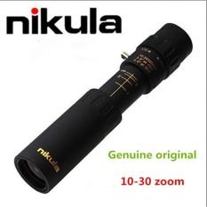 Nikula 10-30x25 Nikula Lapis Baja Monokuler Zoom Optik TelescopeHigh-power High-definition Zoom Bermata Telescope-Intl