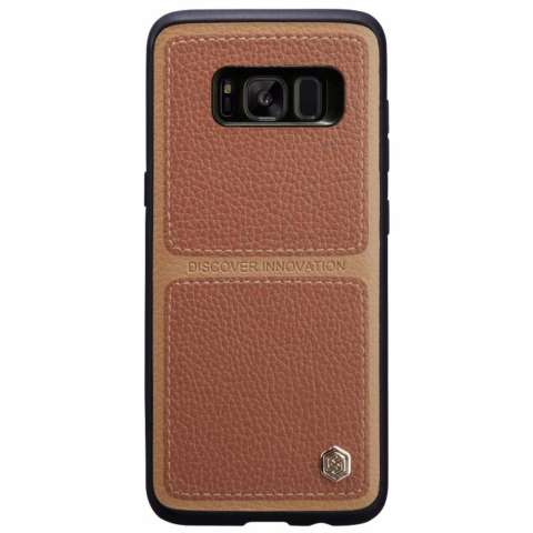Nillkin BURT Series business protective leather case for Samsung Galaxy S8 Plus S8+ - Coklat