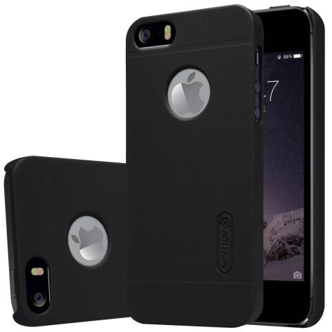 Nillkin For Iphone 5 5S Super Frosted Shield Hard Case Original Hitam Gratis .