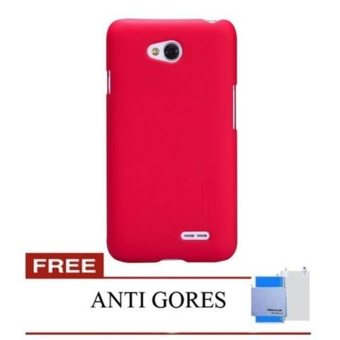 ... Goospery Mercury Wallet Flip Case Fancy Diary untuk LG G3 . Source · Nillkin For LG L80 Frosted Shield Hard Case - Merah + Gratis Anti Gores