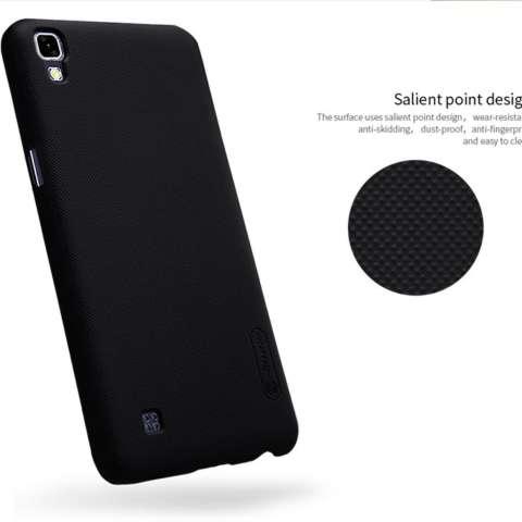 Nillkin For LG X POWER / K220Y Super Frosted Shield Hard Case Original - Hitam +