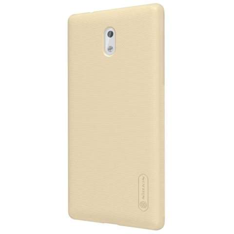 ... Nillkin For Nokia 3 Super Frosted Shield Hard Case Original Emas Gratis Anti Gores