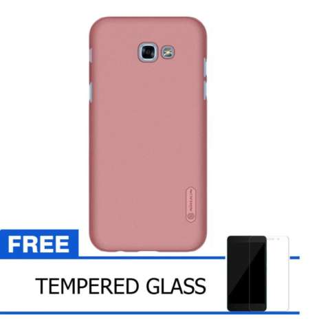 Nillkin For Samsung Galaxy A3 (2017) Super Frosted Shield Hard Case Original - Rose
