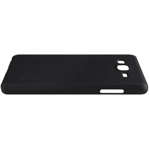 Nillkin Frosted Hard Case for Samsung Galaxy On7 Casing Cover - Hitam