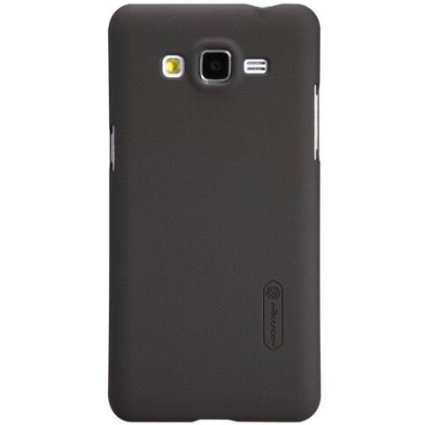 Nillkin Frosted Hard Case Samsung Galaxy Grand Prime Casing Cover - Cokelat 53b5cb46a1