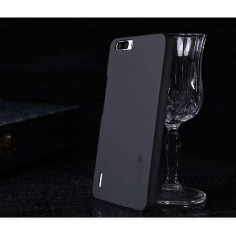 Nillkin Frosted Shield Hard Case Huawei Honor 6 Plus - Hitam + Free Nillkin Screen Protector