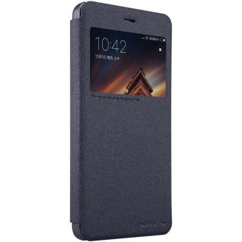Nillkin Case kulit berkilau seri Flip Super tipis untuk menutupi Xiaomi Redmi 4 AMP - International