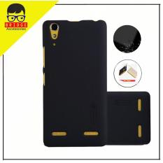 Nillkin Lenovo A6000 / A6010 Plus Case Frosted Shield Hard Back Cover for Lenovo A6000 / A6010 Plus  - Hitam