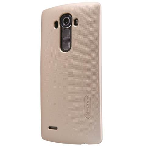 Nillkin LG G4 Super Frosted Shield - Emas + Free Anti Gores
