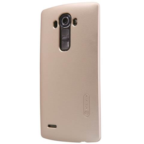 Nillkin LG G4 Super Frosted Shield - Emas + Free Tempered Glass