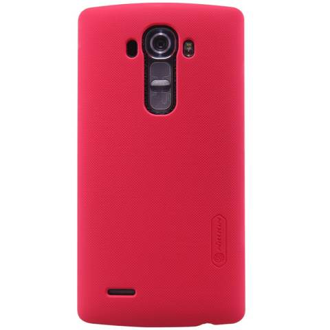 Nillkin LG G4 Super Frosted Shield - Merah + Free Anti Gores