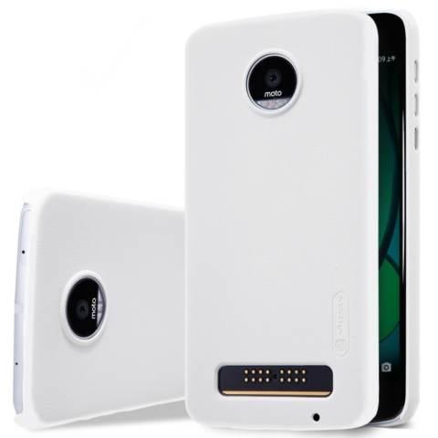 Nillkin Original Hard case Frosted case for Motorola Moto Z Play - Putih + free screen