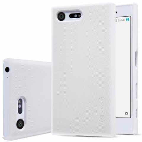 Nillkin Original Hard Case Frosted Case For Sony Xperia X Compact - Putih + Free Screen