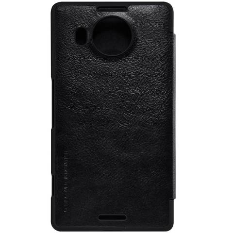 Casing Cover Source · Nillkin Qin Leather Case Microsoft Lumia 950 XL Hitam .