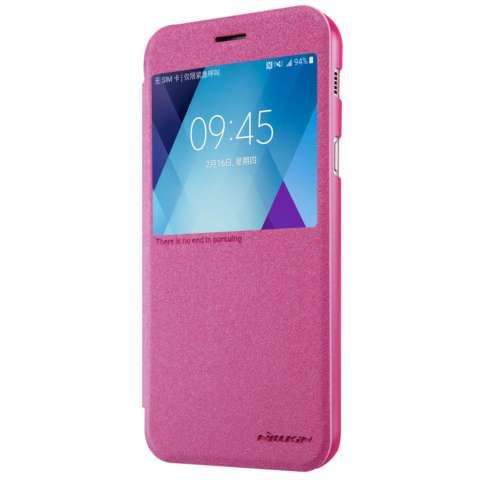Nillkin Sparkle Leather Case / Flip Case Cover Original Samsung Galaxy A7 / A720F 2017 -