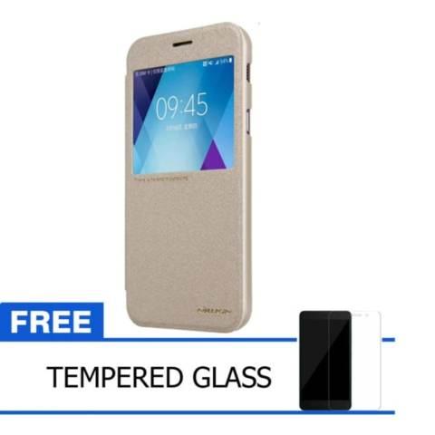 Nillkin Sparkle Leather Case / Flip Case Cover Original Samsung Galaxy A3 (2017) -