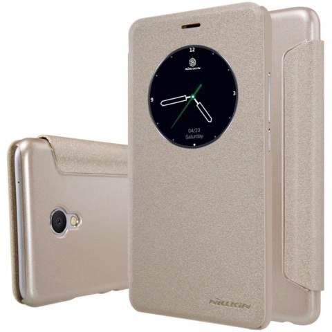 Nillkin Sparkle Leather case Meizu MX6 - Emas