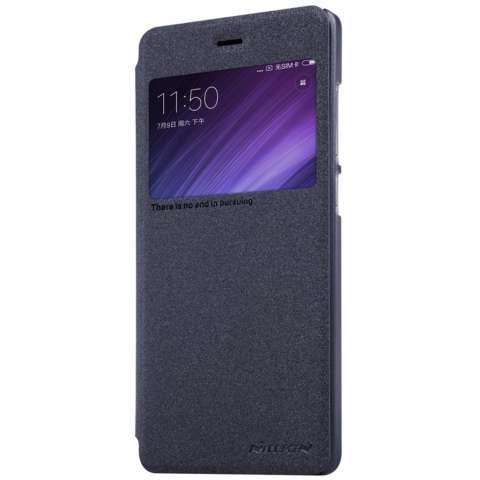 ... Shockproof Hybrid Case for Xiaomi MI 5C + Rounded Tempered Glass. Source · Nillkin Sparkle Leather Case - XiaoMi RedMi 4 Prime / RedMi 4 Pro - Hitam