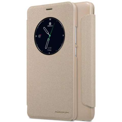 Nillkin Sparkle Series New Leather case for Meizu M5 Note - Emas