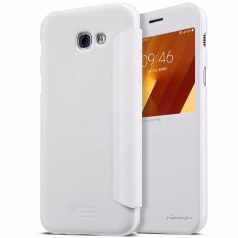 Nillkin Sparkle Series New Leather case Samsung Galaxy A7 2017 (A720F) - Putih