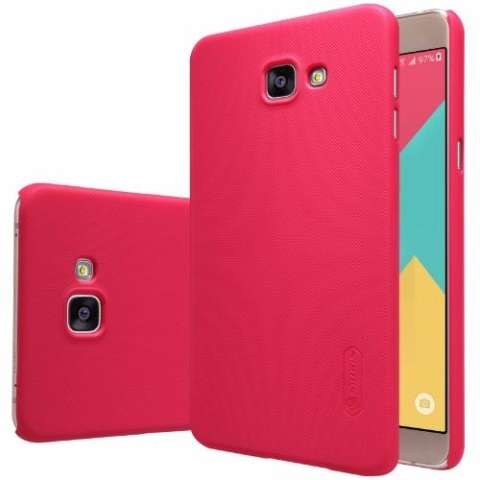 Nillkin Super Frosted Shield for Samsung Galaxy A9 Pro (A9100) - Merah + free