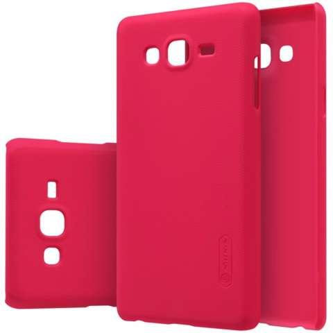 Nillkin Super Frosted Shield for Samsung Galaxy On7 (G6000 G600 O7) - Merah +