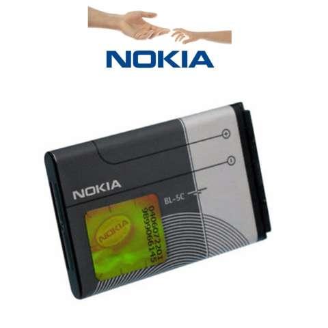Nokia BL-5C Baterai Original For nokia 1100 / 3100 /7610