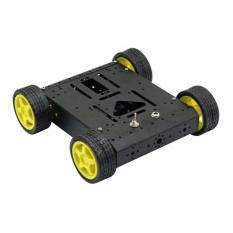 Non Deformation 4WD Drive Mobile Robot Platform for Wireless RF Module - intl