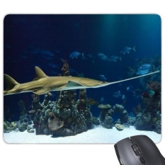 Ocean Ray Skate Science Nature Picture Rectangle Non-Slip Rubber Mousepad Game Mouse Pad Gift