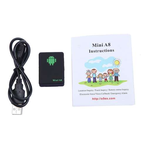 OEM Mini A8 GPS Intelligent Locator Voice Callback Remote Tracking Anti Lost