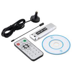Oh USB 2.0 DVB-T Digital TV Receiver HDTV Penala Dongle Stik Antena Inframerah Remote