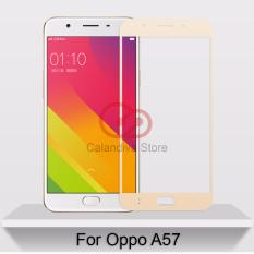ONE-X Full Cover Tempered Glass for Oppo A57 – Gold