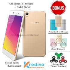 Oppo A37 - 16GB - Jaringan 4G - Gold