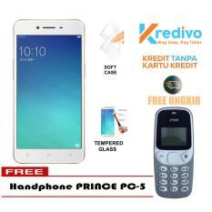Oppo A37 Garansi Resmi 2/16 GB - Gold Free Handphone Prince PC-5 Bisa Kredit Tanpa Kartu Kredit