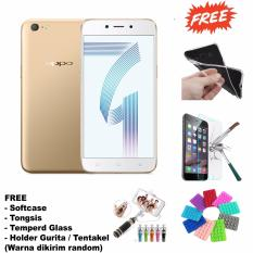 Oppo A71 - 13/5MP - 4G LTE - (Gold + Paket Accessories) - Gold