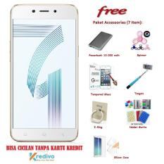 OPPO A71 [2/16GB] + Free 7 Item Accessories