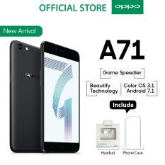 Oppo A71 2GB/16GB Black – Smartphone Game Speedier (Garansi Resmi Oppo Indonesia, Cicilan Tanpa Kartu Kredit, Gratis Ongkir)