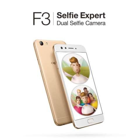 OPPO F3 Dual Selfie Camera - 4/64GB - Kamera Depan (16 MP +8 MP) 2
