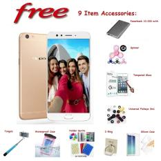 OPPO F3 Plus [4/64GB] + Free 9 Item Accessories