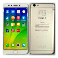 Oppo F3 Plus Layar 6 inci Warna Gold