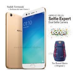 Oppo F3 Plus - Ram 4GB - Rom 64GB - Layar 6 inch - Fingerprint - Gold