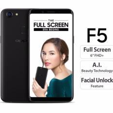 OPPO F5 - 4GB - Black  Garansi Resmi
