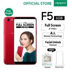 OPPO F5 Pro - 6GB - Red - Garansi Resmi