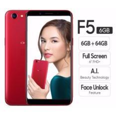 OPPO F5 Smartphone - 6GB - Red Garansi RESMI OPPO